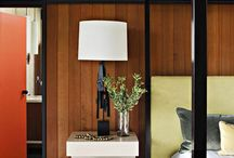 wood panel love / ideas for our mid-century wood-panelled home