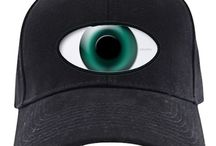 Cyclops Third Eyeball Hats & Caps / Cyclops Third Eyeball Cap lets you keep an eye on them at all times. Nothing gets by you. Visit cheylines.com to see much more.  http://www.cafepress.com/cheylines/13617059