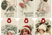 Transfer pictures/Vintage cards