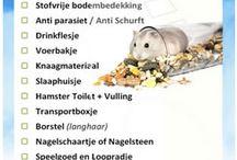 Checklist Hamster / Handige tips, cheklisten etc voor hamsters en dwerghamsters. #hamster #dwerghamster #russischedwerghamster