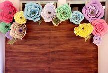 Rosa Cuarzo / Our handmade backdrops