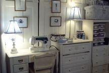 Artist's Atelier  - Our Sewing Atelier / Studio Spaces for Maison Fleur de Lis' Creations