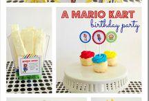Mario Kart Party Ideas