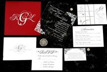 Acrylic Invitations / Stunning Acrylic invitations for your wedding or event, customization available! www.daniellebehardesigns.com