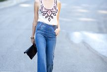 Flared Jeans / by Sai