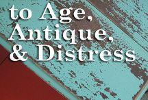 Αged furniture
