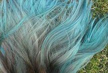 my colourful hair