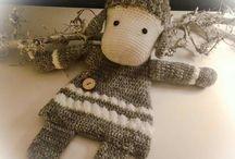 Crochet Ragdolls / Loveys