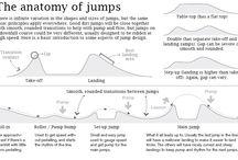 stavění skoků
