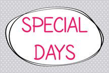 Special Days / by Allyson @ All Our Days