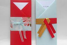 sobres en origami
