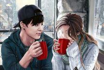BTS fan art Jimin
