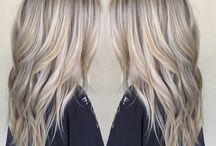Hair Color / neutral blonde/beige blonde/