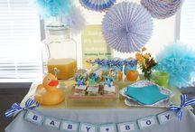 Baby Shower/Theme=Baby Boy= / Serendipityの手がけるベビーシャワー お客様のお写真。 お二人の妊婦さんへのサプライズパーティ!