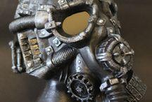 Steampunk masks