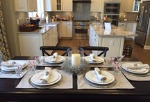 Gathering Spaces / Gather with friends and family in these elegant spaces by Toll Brothers.