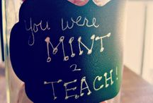 Gifts for the teacher