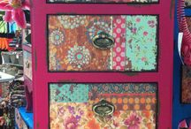 Decoupage - happy colours and fun