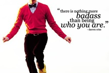 Darrenisms / This is dedicated to all of the witty things Darren says. Huzzah! / by Keri-Elizabeth Waites
