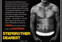 STEPBROTHER DEAREST / Teasers for my upcoming book, Stepbrother Dearest, due out in September 2014.