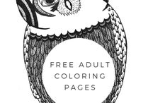FREE coloring pages! / Free Adult Coloring Book Pages by Blue Star Coloring. Follow along as we upload images that are fan favorites, as well as images that haven't ever been published in any of our books! Occasionally, we will pin pages we find interesting throughout Pinterest.  Just another way we, at Blue Star want to give back to you!  Simply print, break out your crayons or colored pencils, and start coloring!  For full book purchases: http://amzn.to/1WCXVaz