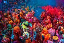 Holi Festival / Indian Spring Holi Festival