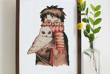 Harry Potter Cross Stitch Patterns / Cute, funny and unique harry potter cross stitch patterns. Cross stitch harry potter if you like the book or the movie. Harry Potter embroidery is an endless story.