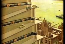 Utopia architecture / Inspiration for original strange ideas