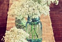Svatebni vyzdoba a kvetiny