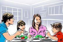 menù per la famiglia