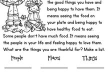 English-Thanksgiving Worksheets