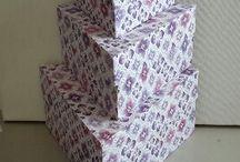 Boxen/Schachteln selber machen- Bilder / Boxen-Bilder