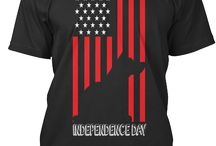 Independence Day Dog / Buy it in https://teespring.com/independence-day-dog Limited Edition!!