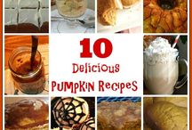 Pumpkin Palooza / All things pumpkin-recipes, pumpkin crafts, pumpkin decor
