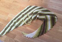 Hitchhier / Strikke sjal