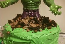Seb Hulk birthday party