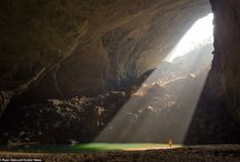 Amazing Caves in Vietnam / APT travel organizes tours to visit the biggest cave in the world Son Doong Cave and others caves of Vietnam.