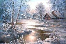Zimne krajinky