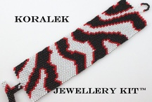 Bracelets - Peyote Stitch / Bracelets are fashionable, great to wear and fun to make.