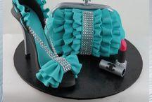 Sko og taske kager / Få inspiration til en rigtig tøse kage