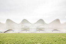 Reggio Emilia AV Station / Santiago Calatrava Modern Train station Italy Reggio Emilia Architecture