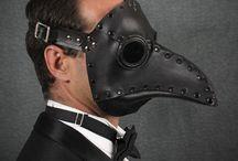 masks / by Adam Grogitsky