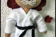 Karate feltro