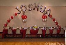 Large Name Balloons