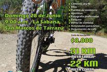 Recreativas MTB Junio 2015 / Recreativas de MTB en Costa Rica para el mes de Junio 2015