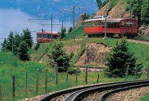 Swiss Trains & Trams