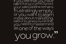 Masterminding / Gems from my years of running mastermind groups and learning about business growth!