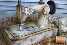 Sewing machines and other goodies  / by Ann York