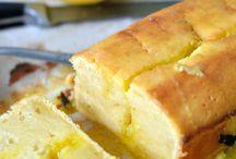 Desserts avec citrons