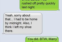 Funny texts / On this board you'll see hilarious text messages that will bring a smile do your face